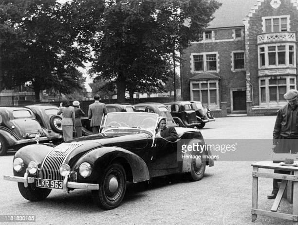 Allard L type Welsh Rally 12th July 1952 Creator Unknown