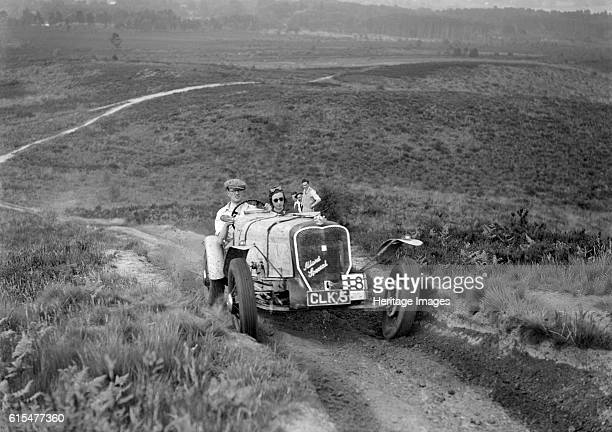 Allard Special 2-seater sports taking part in the NWLMC Lawrence Cup Trial, 1937. Allard Special 2 seater sports. 1935 3622 cc. Vehicle Reg. No....