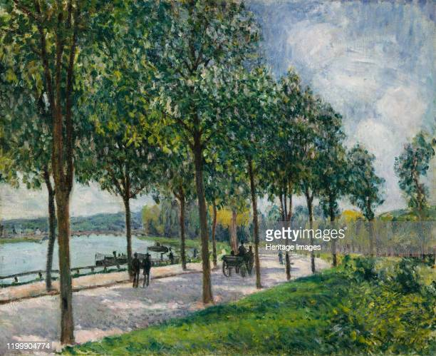 Allée of Chestnut Trees 1878 Artist Alfred Sisley