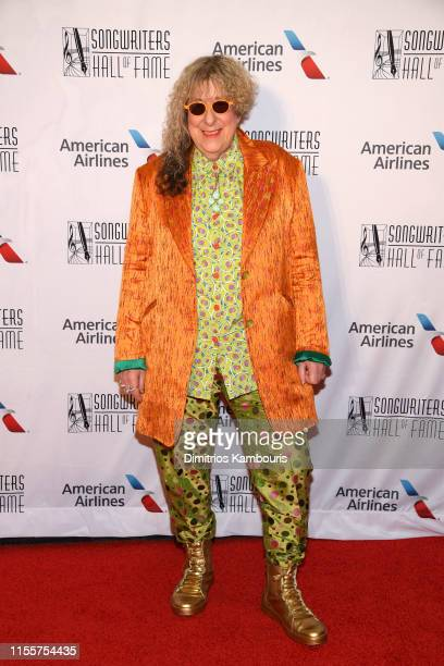Allee Willis attends the 2019 Songwriters Hall Of Fame at The New York Marriott Marquis on June 13, 2019 in New York City.