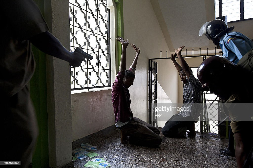 KENYA-UNREST-SOMALIA-POLICE : News Photo