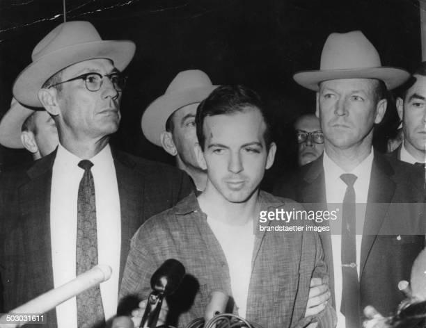 Alleged Kennedy assassin Lee Harvey Oswald shortly after his arrest November 1963
