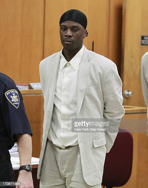Alleged pimp Vincent George Jr walks in for his trial inside Manhattan Court located at 111 Centre Street in Manhattan