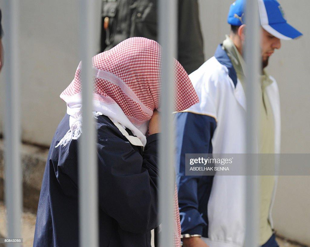 Alleged terrorist Moroccan-born Swedish : Photo d'actualité