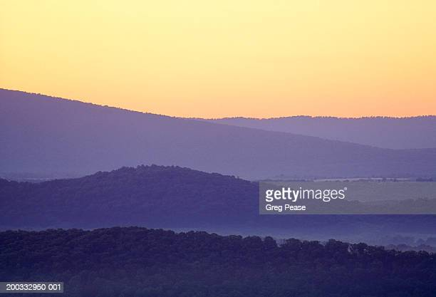 """usa, allegheny mountains, sunrise, summer - """"greg pease"""" stock pictures, royalty-free photos & images"""