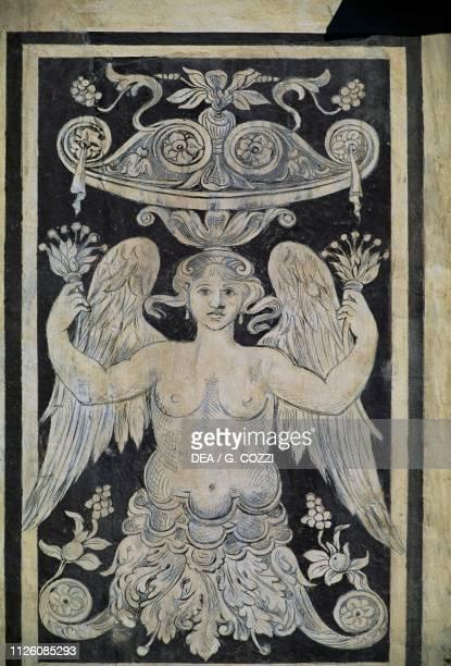 Allegorical figure by Giorgio Vasari Tommaso Battista del Verrocchio and Alessandro Forzori Palazzo dei Cavalieri or Palazzo della Carovana Piazza...