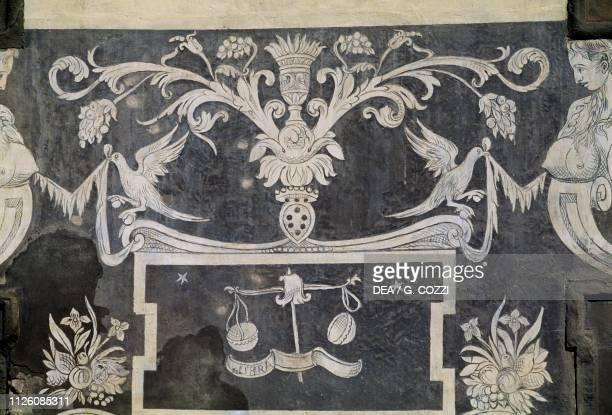 Allegorical figures by Giorgio Vasari Tommaso Battista del Verrocchio and Alessandro Forzori Palazzo dei Cavalieri or Palazzo della Carovana Piazza...