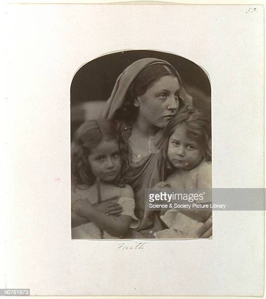 Allegorical portrait of Mary Ann Hillier with Elizabeth Keown and Alice Jessie Keown by Julia Margaret Cameron Cameron's photographic portraits are...