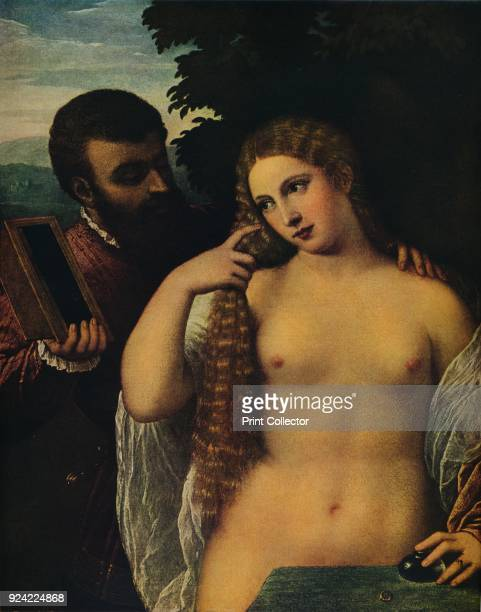 'Allegory ' 16th century The painting is part of the Kress Collection National Gallery of Art Washington DC From Masterpieces of Painting edited by...