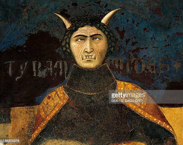 Allegory of bad government tyranny detail from the Allegory and effects of good and bad government in town and country 13371343 by Ambrogio...