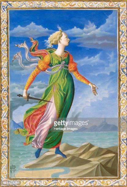 Allegory of Carthage, c1448. Illustration for the manuscript De Secundo Bello Punico Poema by Silius Italicus. Pesellino, Francesco di Stefano ....