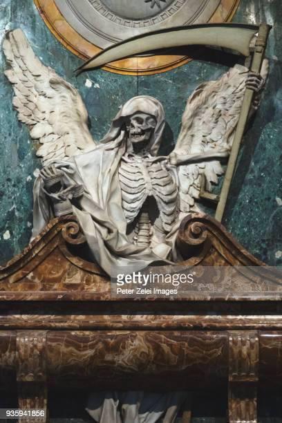 allegory of death - angel of death imagens e fotografias de stock
