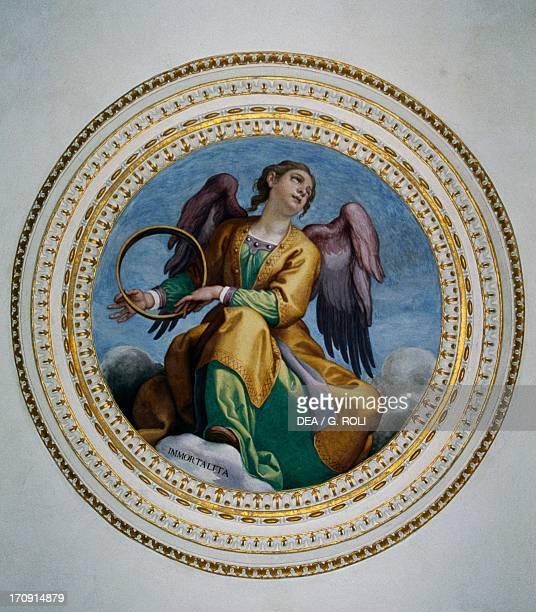 Allegory of fertility by Domenico Cresti Medicean Villa of Artimino also called Villa La Ferdinanda or Villa of the Hundred Chimneys Artimino Tuscany...