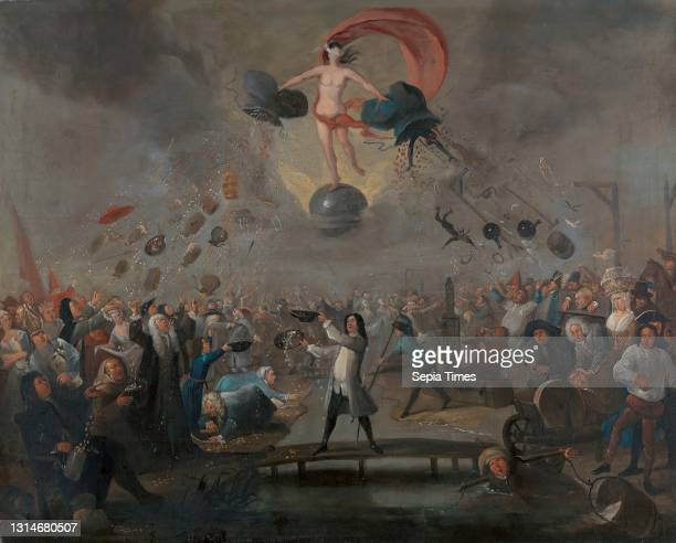 Allegory of Fortune, Balthazar Nebot, active 1730–1762, Spanish, active in Britain , ca. 1730, Oil on canvas, Support : 28 5/16 x 35 1/8 inches ,...