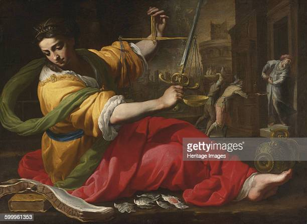 Allegory of Justice 1656 Private Collection Artist Mei Bernardino
