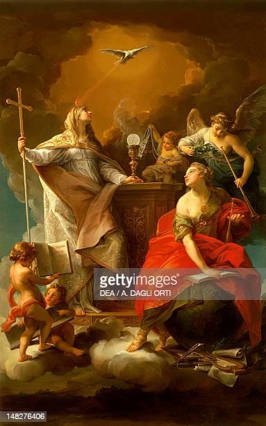 Allegory of Religion by Pompeo Batoni Caserta Reggia Di Caserta Palazzo Reale