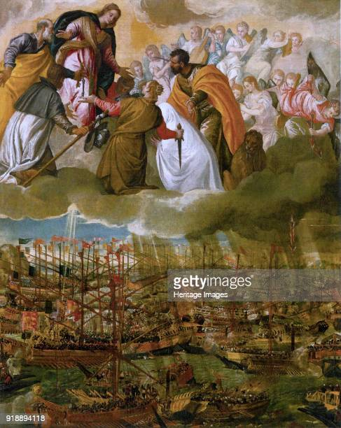 Allegory of the Battle of Lepanto c 1573 Found in the collection of Gallerie dell' Accademia Venice