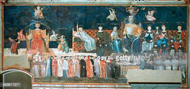 'Allegory of the Good Government' 13381340 Ambrogio Lorenzetti frescoed the side walls of the Council Room of the City Hall of Siena The subject of...