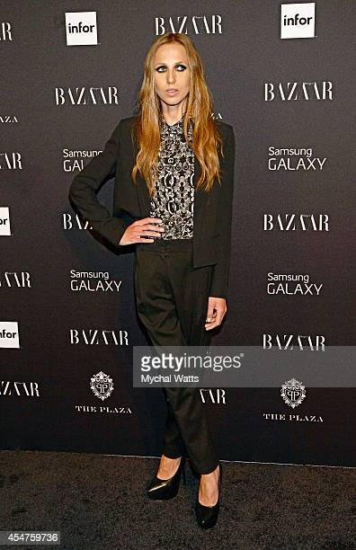 Allegra Beck Versace attends Harper's Bazaar Celebrates ICONS by Carine Rotifeld at The Plaza Hotel on September 5 2014 in New York City