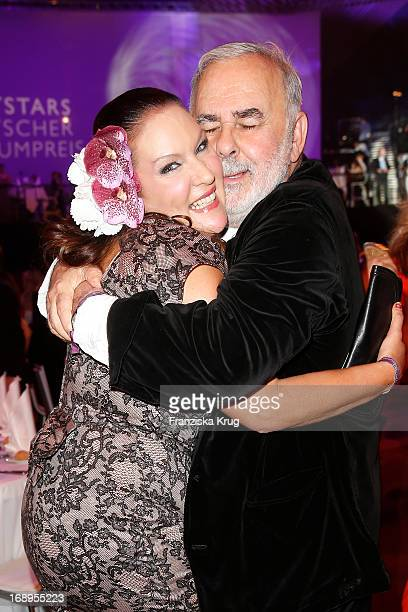 Allegra Curtis and Udo Walz attend the Duftstars Awards 2013 at the Tempodrom on May 17 2013 in Berlin Germany