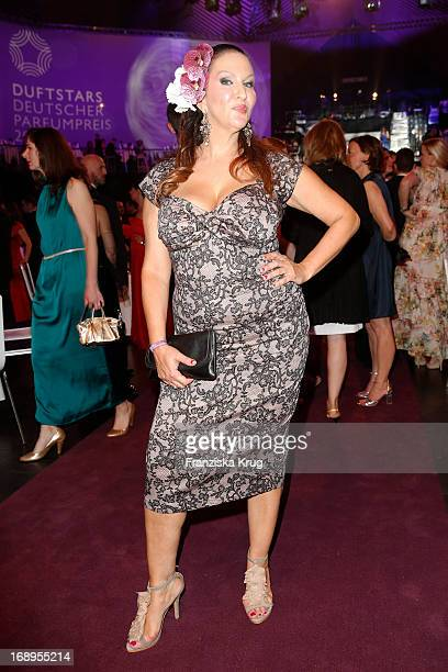 Allegra Curtis attends the Duftstars Awards 2013 at the Tempodrom on May 17 2013 in Berlin Germany