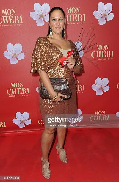 Allegra Curtis attends the 'Mon Cheri Barbara Day' Charity event at Muellersches Volksbad on December 3 2011 in Munich Germany