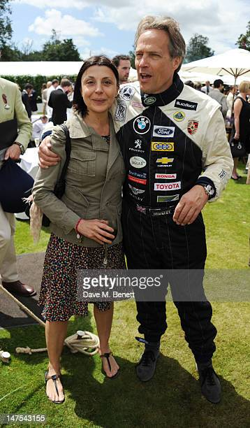 Allegra Donn and Lord Charles March attends the Cartier Style Luxury Lunch at the Goodwood Festival of Speed on July 1 2012 in Chichester England