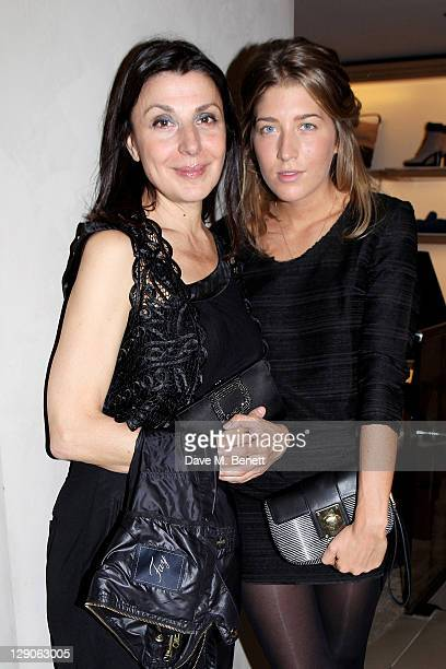 Allegra Donn attends a party hosted by TOD's to celebrate the launch of their new line of bags on October 11 2011 in London England