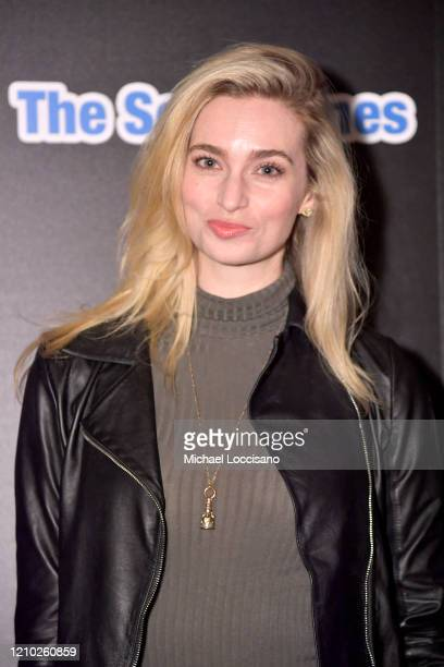 Allegra Edwards attends the New York premiere of The Social Ones at Village East Cinema on March 03 2020 in New York City