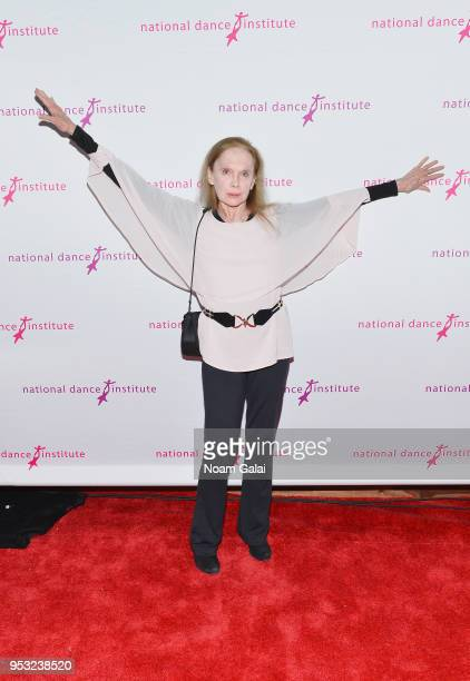 Allegra Kent attends the National Dance Institute Annual Gala at The Ziegfeld Ballroom on April 30 2018 in New York City