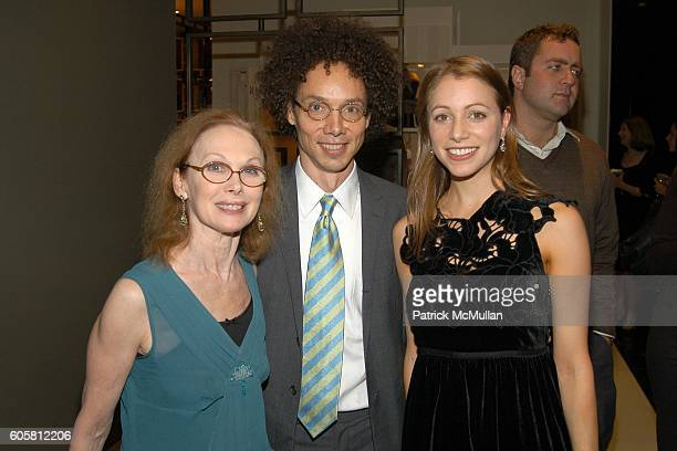 Allegra Kent Malcolm Gladwell and Lauren Redniss attend VANITY FAIR COLE HAAN celebrate Lauren Redniss' new book 'CENTURY GIRL' to benefit The...