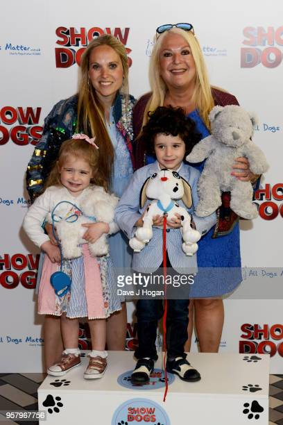 Allegra Kurer and Vanessa Feltz attend the 'Show Dogs' Gala Screening at Picturehouse Central on May 13 2018 in London England