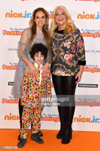 Allegra Kurer and Vanessa Feltz attend the UK Premiere of The Adventures Of Paddington at The Ham Yard Hotel on February 9 2020 in London England