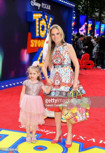Allegra Kurer attends the European premiere of Disney and Pixar's Toy Story 4 at the Odeon Luxe Leicester Square on June 16 2019 in London England