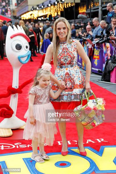 Allegra Kurer attends the European Premiere of Toy Story 4 at Odeon Luxe Leicester Square on June 16 2019 in London England