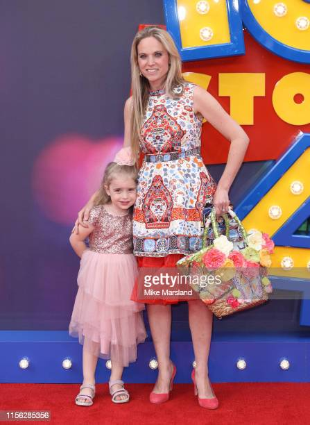 Allegra Kurer attends the Toy Story 4 European Premiere at Odeon Luxe Leicester Square on June 16 2019 in London England
