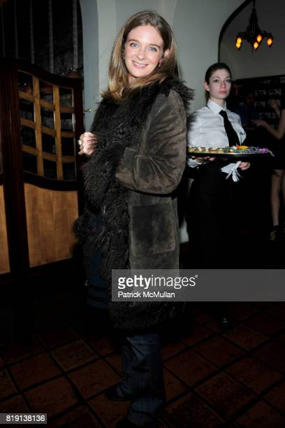 Allegra Pesenti attend NICOLAS BERGGRUEN's 2010 Annual Party at the Chateau Marmont on March 3 2010 in West Hollywood California