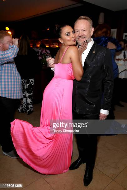Allegra Riggio and Jared Harris attend the 2019 PreEmmy Party hosted by Entertainment Weekly and L'Oreal Paris at Sunset Tower Hotel in Los Angeles...