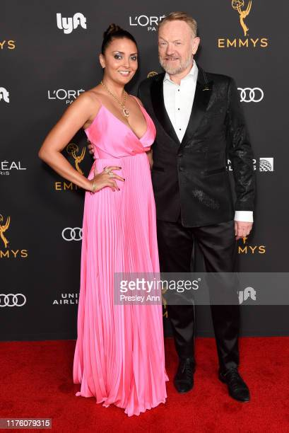 Allegra Riggio and Jared Harris attend the Television Academy honors Emmy nominated performers at Wallis Annenberg Center for the Performing Arts on...