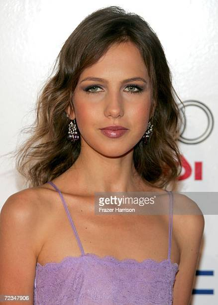 Allegra Versace Beck arrives at the AFI FEST presented by Audi opening night gala of Bobby at the Grauman's Chinese Theatre on November 1 2006 in...