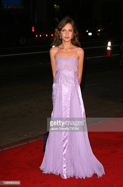 Allegra Versace during AFI Fest 2006 Black Tie Opening Night Gala and US Premiere of Emilio Estevez's 'Bobby' Arrivals at Grauman's Chinese Theater...