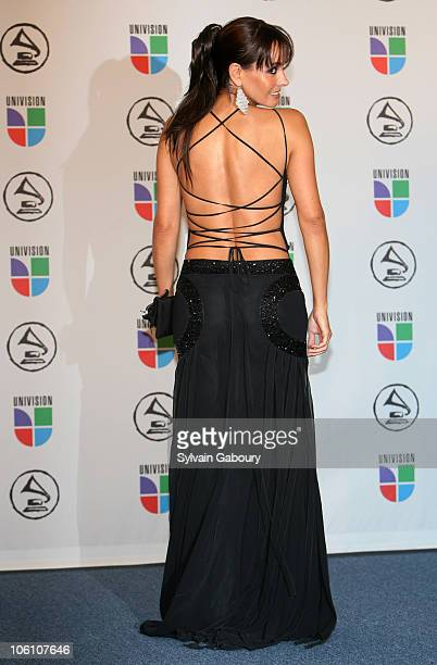 Allejandra Barros presenter during The 7th Annual Latin GRAMMY Awards Press Room at Madison Square Garden in New York City New York United States