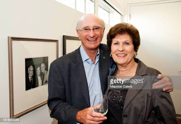 Allen and Sharon Karp attend the TIFF Board Of Directors cocktail reception during 2012 Toronto International Film Festival at TIFF Bell Lightbox on...