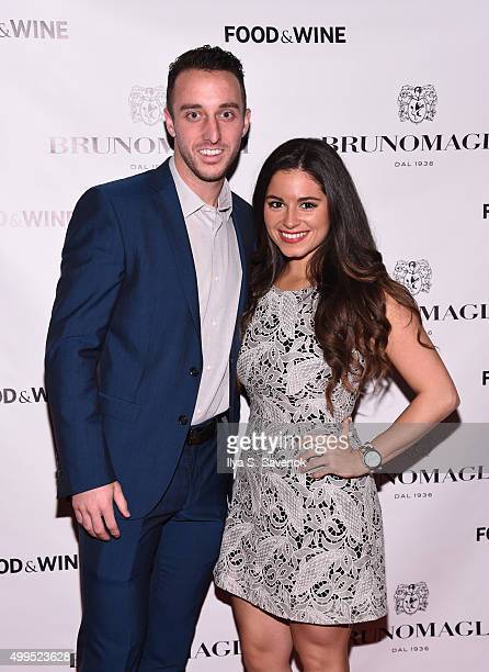 Allen attends Bruno Magli Presents A Taste Of Italy CoHosted By Food Wine Scott Conant on December 1 2015 in New York City