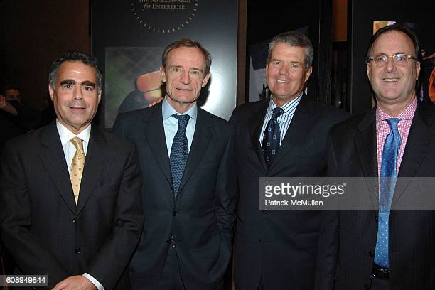 Allen Brill JeanClaude Killy Doug Meine and Peter Nicholson attend ROLEX MENTOR and PROTEGE ARTS INITIATIVE at New York State Theatre Lincoln Center...