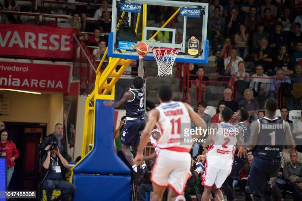 0 Allen Bryon Basket Brescia leonessa in action during the Italy Lega Basket of Serie A match 1 between Openjobmetis Varese Germani Basket Brescia...