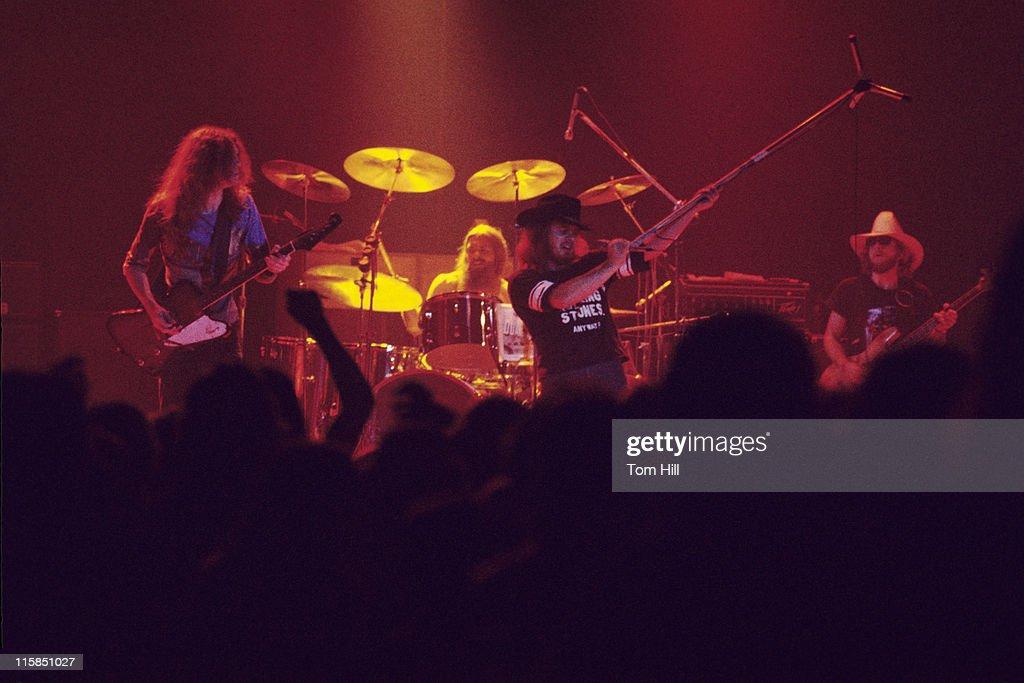 Lynyrd Skynyrd in Concert at the Omni Coliseum in Atlanta - July 5, 1975