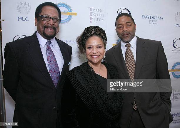 Allen Counter Debbie Allen and Norm Nixon attend the Multicultural Learning Center's 2nd Annual Harmony Gala Benefit Dinner at Pickwick Gardens on...
