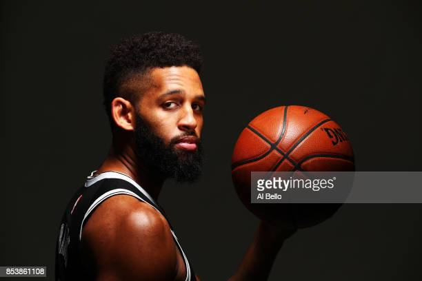 Allen Crabbe of the Brooklyn Nets poses for a portrait during Media Day at HSS Training Center on September 25 2017 in the Brooklyn Borough of New...