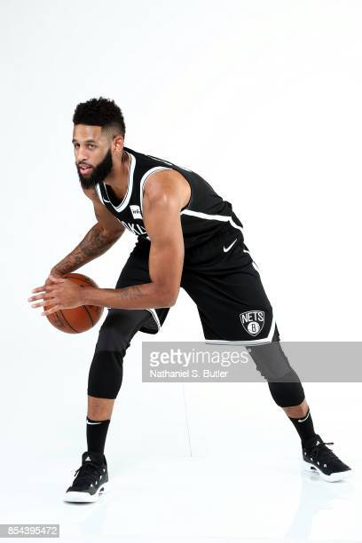 Allen Crabbe of the Brooklyn Nets poses for a portrait during the 20172018 Brooklyn Nets Media Day at the Hospital for Special Surgery Training...